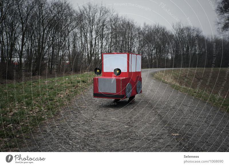 Öko Natur Baum Winter Straße Herbst Umwelt Freizeit & Hobby Park PKW Verkehr fahren Verkehrswege nachhaltig Fahrzeug Basteln ökologisch
