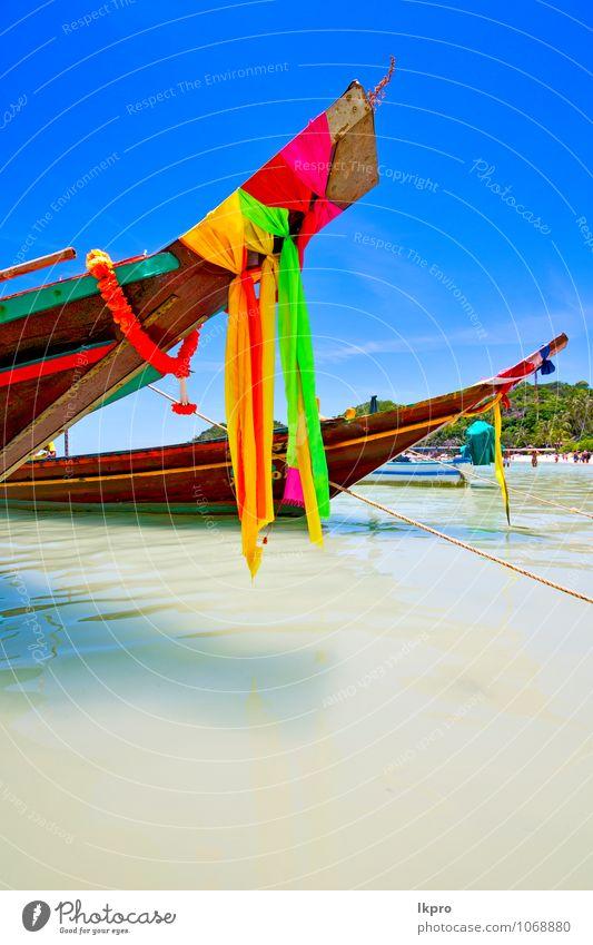 asien in der kho tao bay insel weiß Erholung Ferien & Urlaub & Reisen Tourismus Ausflug Freiheit Sommer Strand Insel Wellen Sport Wassersport Schwimmen & Baden