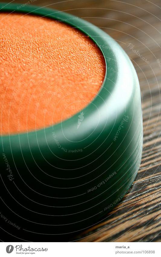 briefmarken pad grün Wasser Holz orange nass Statue feucht Post senden Briefmarke Schaumstoff