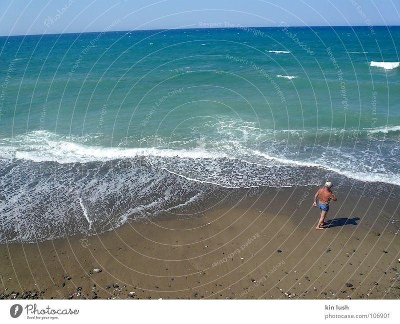 baywatch Meer Sommer Strand Küste Schwimmen & Baden türkis Zypern