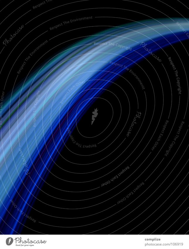 highspeed internet Streifen Licht schwarz violett grün Unschärfe Langzeitbelichtung Belichtung Farbenspiel Disco Musik Laser schwingen Kreis Geometrie Spuren