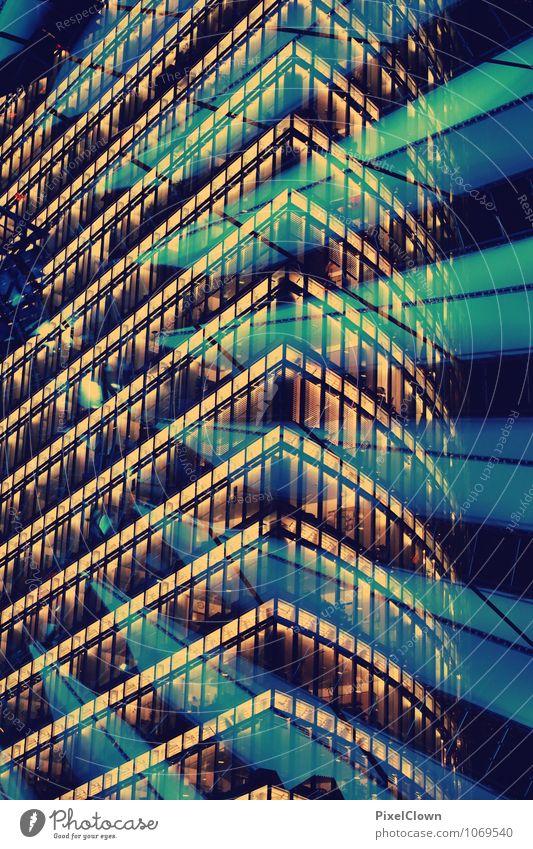 strahlendes Berlin Himmel Ferien & Urlaub & Reisen Stadt blau Farbe Architektur Stil Gebäude Lifestyle Kunst außergewöhnlich Stimmung Business Fassade