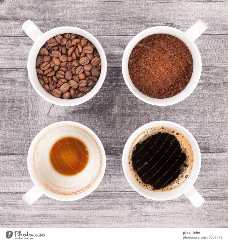 Kaffee Tassen Lebensmittel Getreide Ernährung Frühstück Kaffeetrinken Getränk Heißgetränk Espresso Geschirr Becher Gesundheit Gesunde Ernährung Erholung