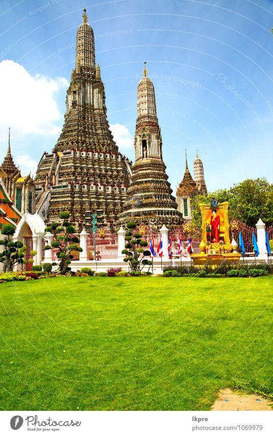 kho samui bangkok in thailand Ferien & Urlaub & Reisen Tourismus Kunst Skulptur Architektur Pflanze Himmel Baum Gras Dorf überbevölkert Kirche Dom Palast Treppe