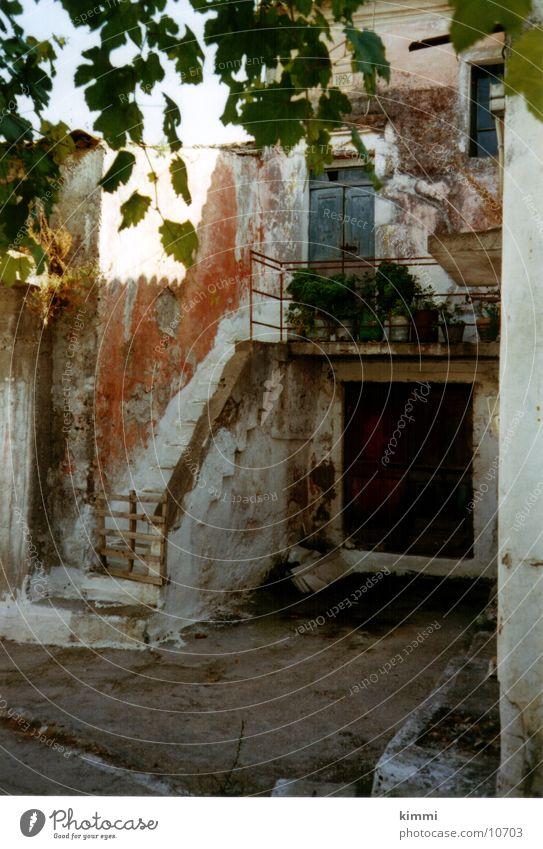 Argirades/ Corfu Haus Romantik Dorf Griechenland Europa altes Haus