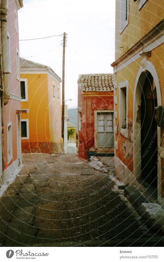 Korfiotische Impression 2 Haus Europa Dorf Griechenland Korfu