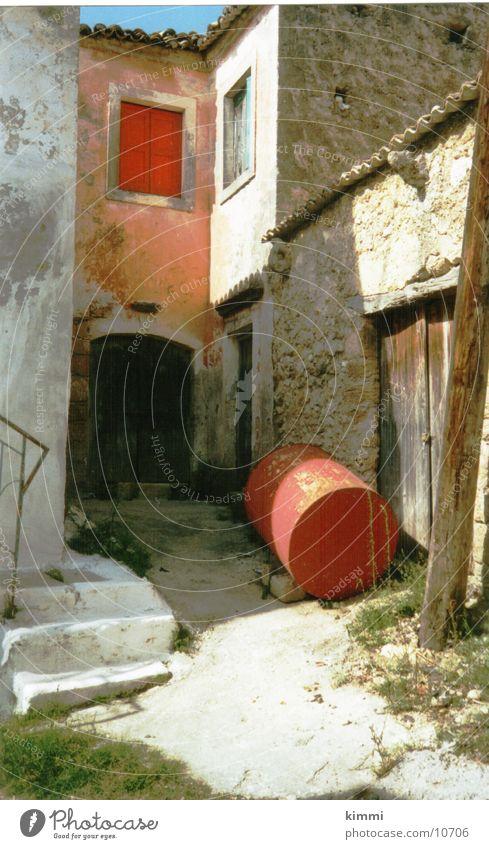 Korfiotische Impression 3 Haus Europa Dorf Griechenland Korfu