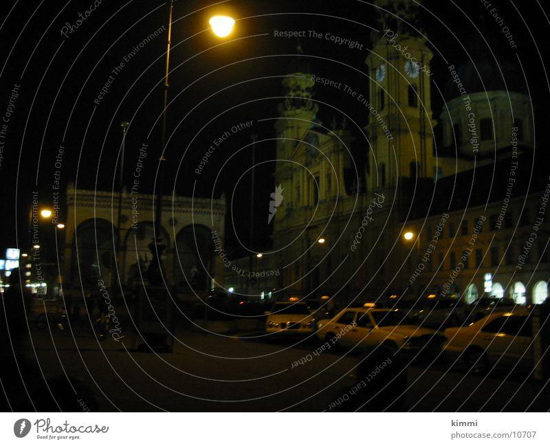 München  bei Nacht Stadt Europa München