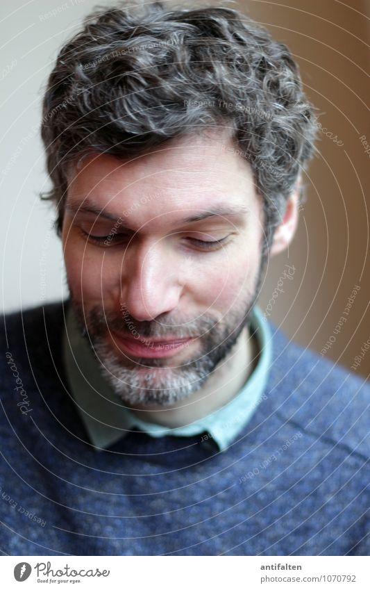 Glückwunsch, C/L :-) Mensch maskulin Mann Erwachsene Freundschaft Leben Kopf Haare & Frisuren Gesicht Auge Ohr Nase Mund Lippen Bart 1 30-45 Jahre Hemd Pullover