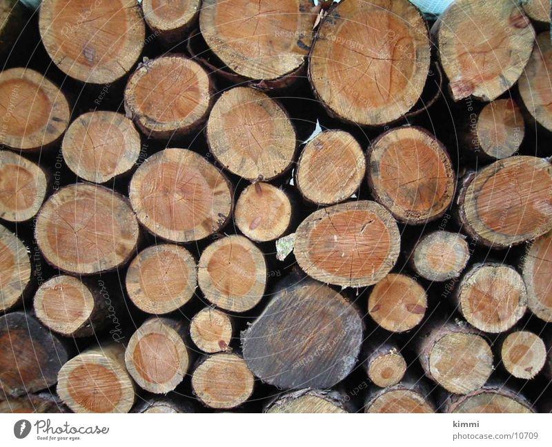 Rundholz Holz Baumstamm