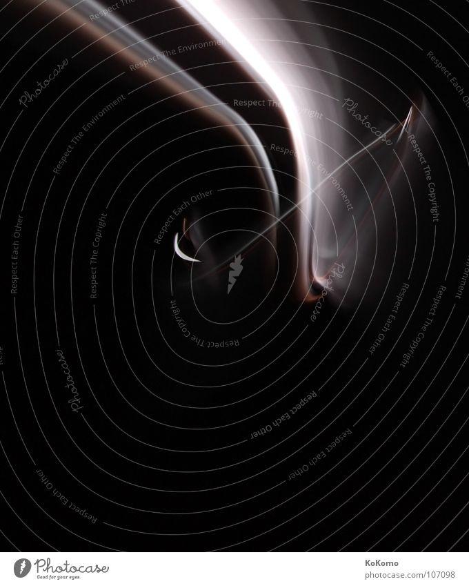 Licht Dimension Nacht ruhig dunkel schwarz rot weiß weich Park Einsamkeit Konzentration Vergänglichkeit light Bewegung lightart spieglung Kraft alone Schatten