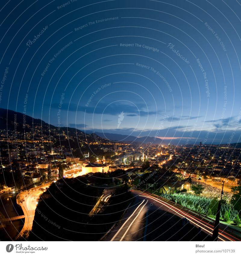 Sarajevo gelb Europa Skyline