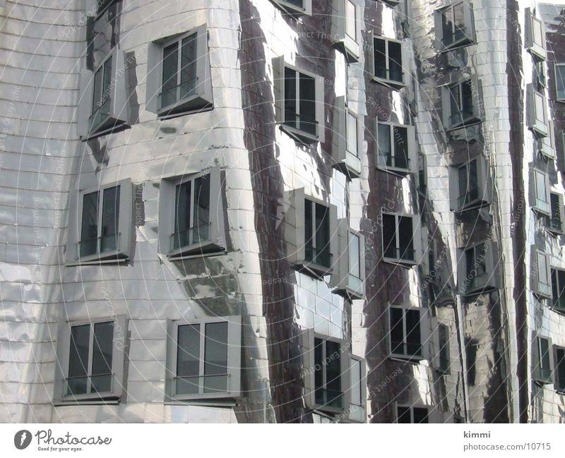 Hafenmeile Düsseldorf, Silberbau_Front Haus Gebäude Architektur