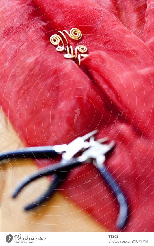 Kunsthandwerk I blau schön rot Kunst Design gold einzigartig Schmuck Ring Accessoire Handwerker Kunstwerk