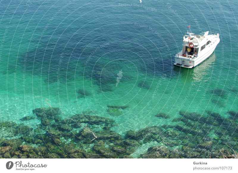 Descanso en la Cies Meer Sommer Schifffahrt Jacht Sportboot