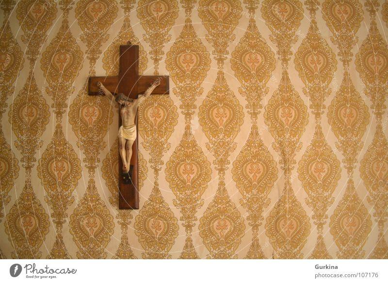 Inri Religion & Glaube Jesus Christus retro Moral inri faith catolicism crucifixion old rip Mauer