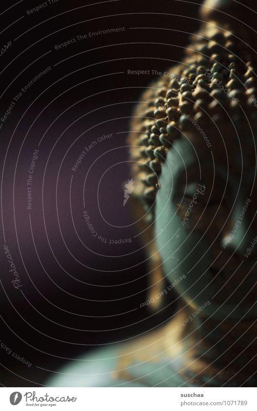 buddha 3 Gesicht Religion & Glaube Kraft Kunststoff Gelassenheit Glaube exotisch Meditation Figur Weisheit achtsam Buddha Buddhismus
