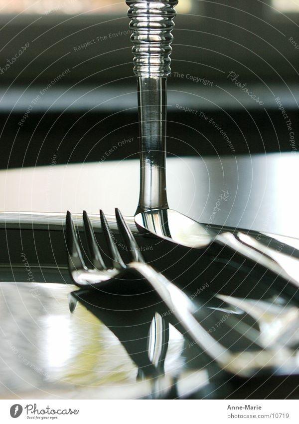 TischDeck Ernährung Besteck Messer Gabel Parkdeck