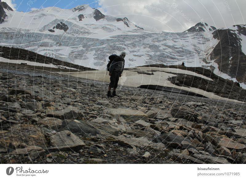 Ziemlich Dünne Luft Freizeit & Hobby Sport Fitness Sport-Training Klettern Bergsteigen Mann Erwachsene 1 Mensch 18-30 Jahre Jugendliche 30-45 Jahre Klimawandel