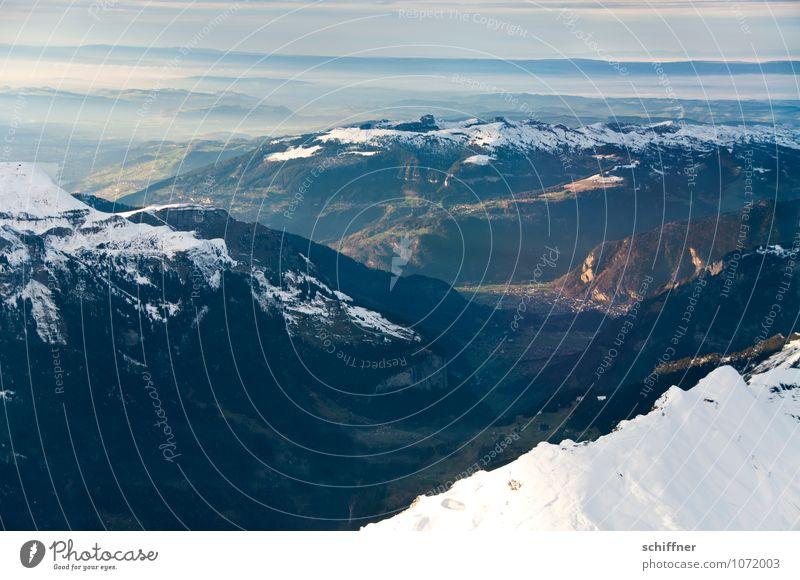 Schwarzwald Natur Landschaft Felsen Alpen Berge u. Gebirge Gipfel Schneebedeckte Gipfel Gletscher dunkel kalt Tal Berner Oberland Jungfrau (Berg) Jungfrauregion
