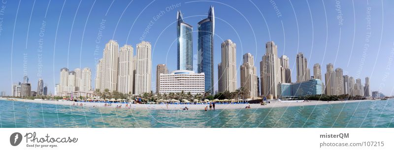 Haste ma nen Dirham? I Mensch Himmel Natur Wasser Stadt grün schön blau Freude Sommer Strand Meer Ferien & Urlaub & Reisen Wolken Ferne Leben