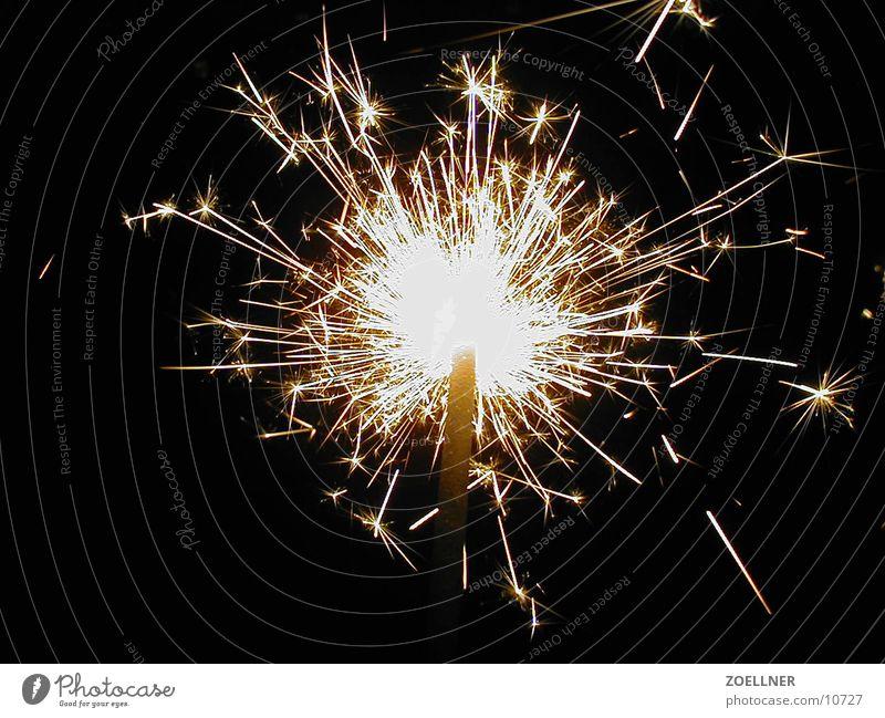 Wunderkerze 1 Kerze Feuerwerk Silvester u. Neujahr Elektrisches Gerät Technik & Technologie Brand