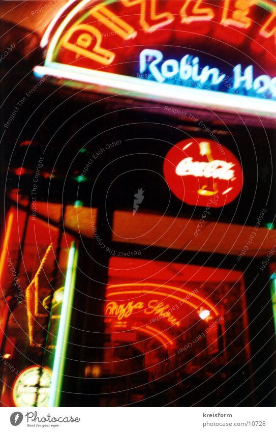 NightLight Neonlicht Club Lomografie Rom bei Nacht -)