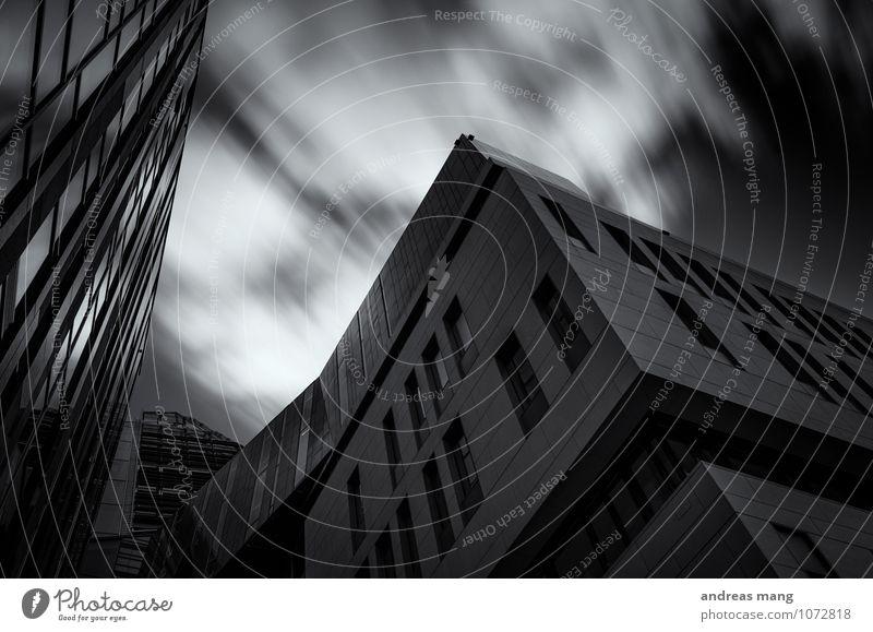 Statik & Bewegung Leipzig Stadt Hochhaus Gebäude Architektur Fenster Dach modern standhaft Ordnungsliebe ästhetisch Business einzigartig Geschwindigkeit