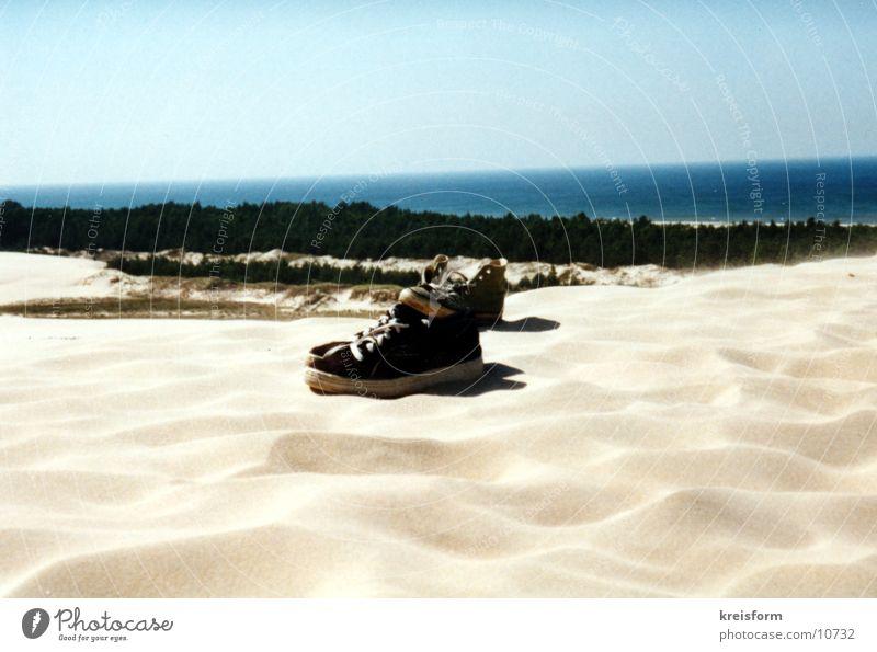 Schuhe Strand Sand Wüste Dinge