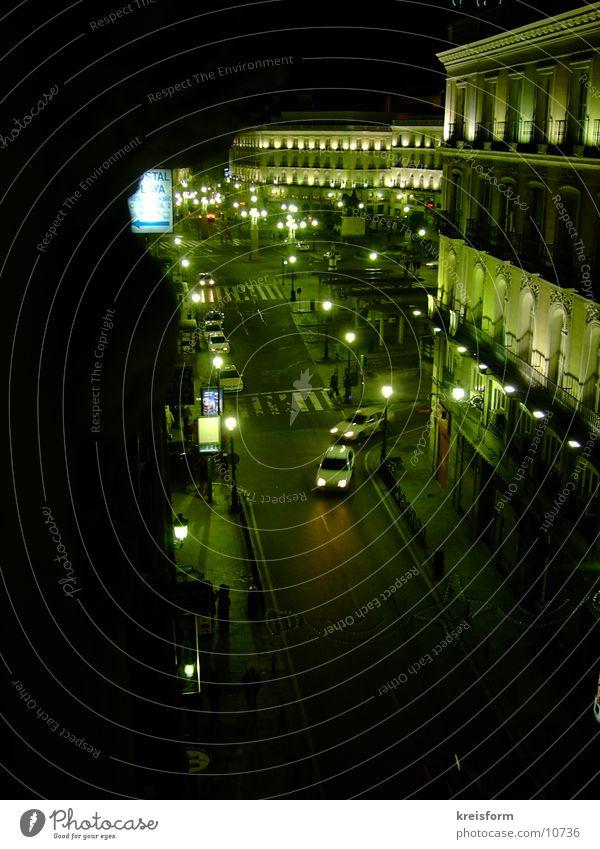 A Night In Madrid Platz Nacht Europa Licht