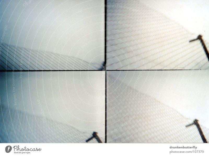 Maschen-Draht-Zaun Himmel schwarz grau Metall Zaun Draht Maschendrahtzaun Drahtzaun
