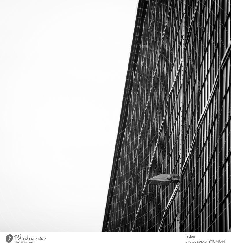 beobachtung in der fläche. Stil Design Güterverkehr & Logistik Technik & Technologie Fortschritt Zukunft High-Tech Haus Fabrik Gebäude Architektur Mauer Wand