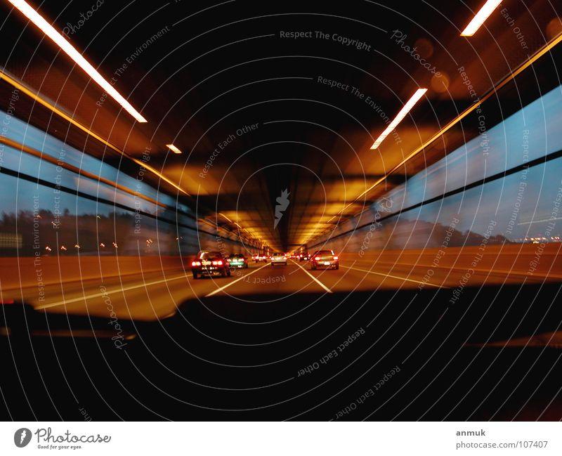 Baybright Freiheit PKW Geschwindigkeit Brücke Warme Farbe