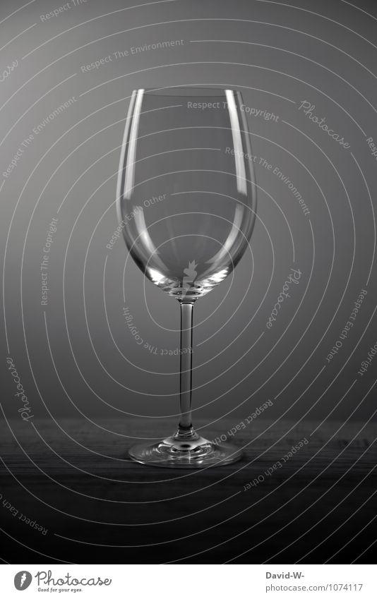 Kristallklar Mensch schön Erholung ruhig Stil Lifestyle Business elegant Glas leer Getränk Sauberkeit Klarheit Gastronomie Wein