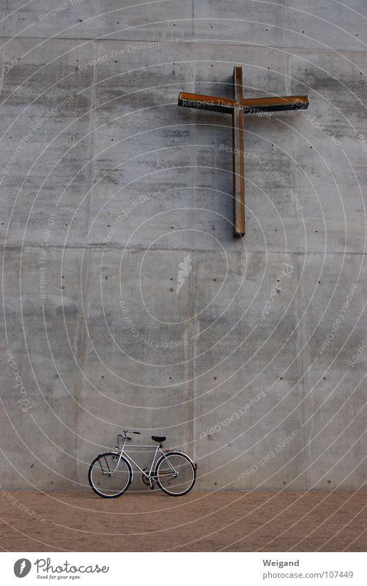 zu dir? oder zu mir? Ferien & Urlaub & Reisen Sand Fahrrad Religion & Glaube Kunst Beton Rücken Fragen modern Zukunft Kommunizieren Kultur Kindheit