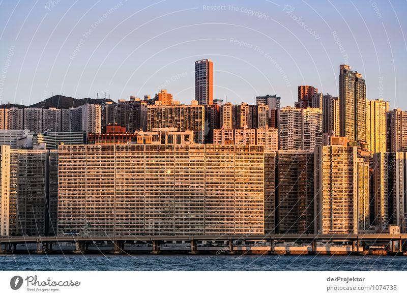 Zellenleben Hongkong Ferien & Urlaub & Reisen Sommer Haus Umwelt Straße Architektur Gefühle Gebäude Fassade Tourismus Verkehr Hochhaus Schönes Wetter Brücke