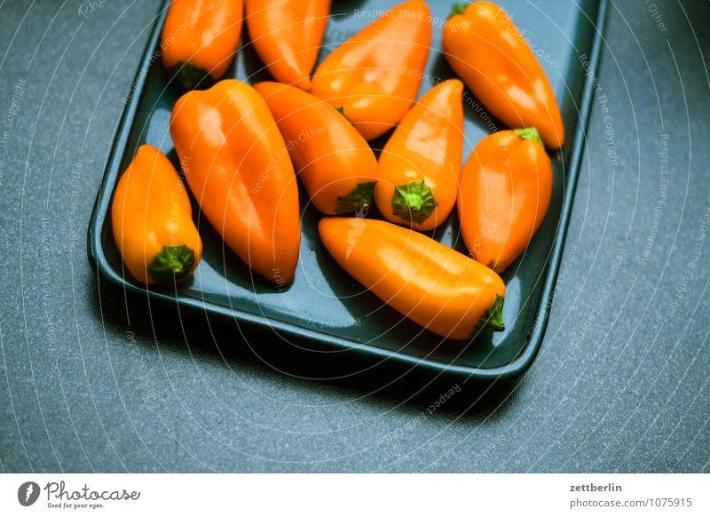 Paprika Frucht Gemüse Gesunde Ernährung Speise Essen Foodfotografie Vegetarische Ernährung Vegane Ernährung frisch Vitamin Scharfer Geschmack rot Gesundheit