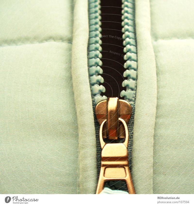 was zum aufreißen - Winter-Edition blau weiß Wärme Mode Bekleidung Physik Gebiss unten Jacke dick trendy kuschlig schick schließen bedecken