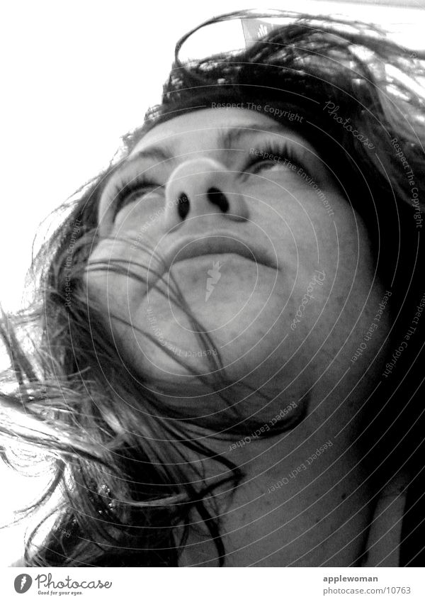 woman Mensch Gesicht Haare & Frisuren Kopf