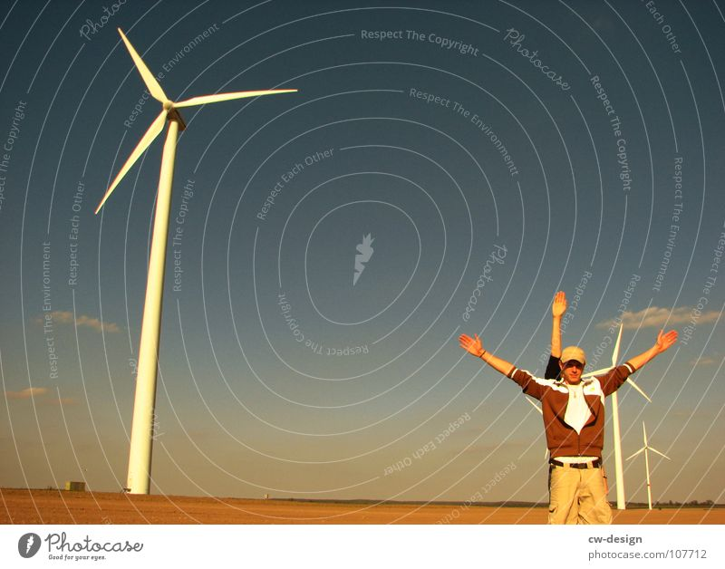 die nachahmung Mensch Himmel Natur Jugendliche grün Ferien & Urlaub & Reisen Sommer Freude Wolken Ferne Erholung Wiese Herbst Spielen springen Lampe