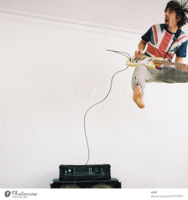 Rock da House 2014 Mensch Jugendliche Mann Freude 18-30 Jahre Erwachsene Bewegung Stil springen Mode maskulin Raum Musik verrückt Bekleidung Lebensfreude