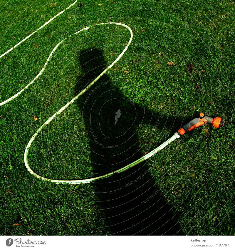 schattensprengmeister Meister Gartenarbeit Arbeit & Erwerbstätigkeit Schlauch Wasserschlauch sprengen gießen nass Gärtner Gartenbau Spielen fahren Götter