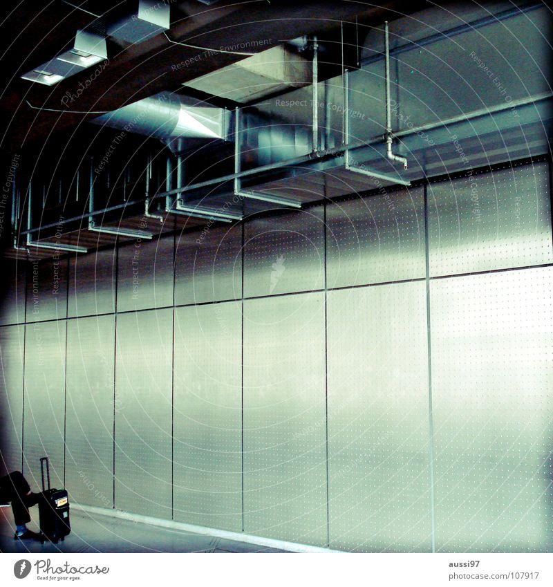 Gate 23 Ferien & Urlaub & Reisen Arbeit & Erwerbstätigkeit warten Flugzeug fliegen Industrie Flughafen Langeweile Mallorca Düsenflugzeug wegfahren Gate