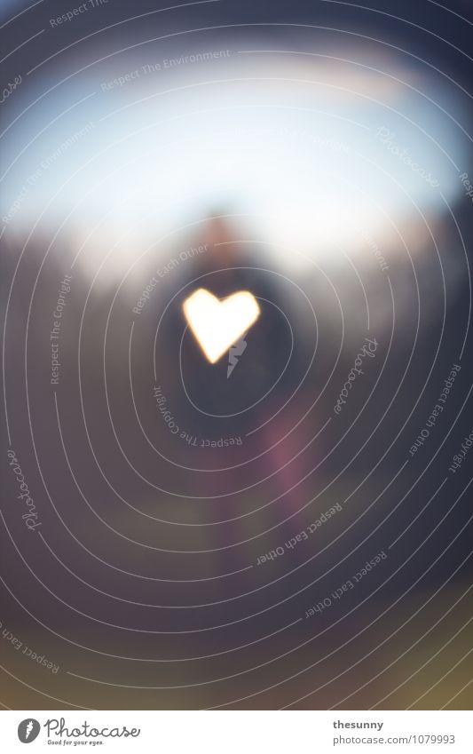 sehnsucht maskulin Junger Mann Jugendliche Erwachsene 1 Mensch Liebe einzigartig retro Leidenschaft Romantik ruhig Glück Unendlichkeit Wert Beleuchtung Herz