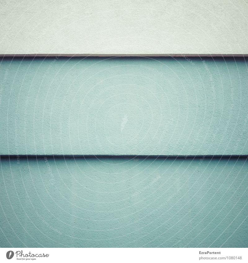 = blau Farbe weiß Haus Wand Architektur Gebäude Mauer grau Stein Linie Fassade Design ästhetisch Ecke Beton
