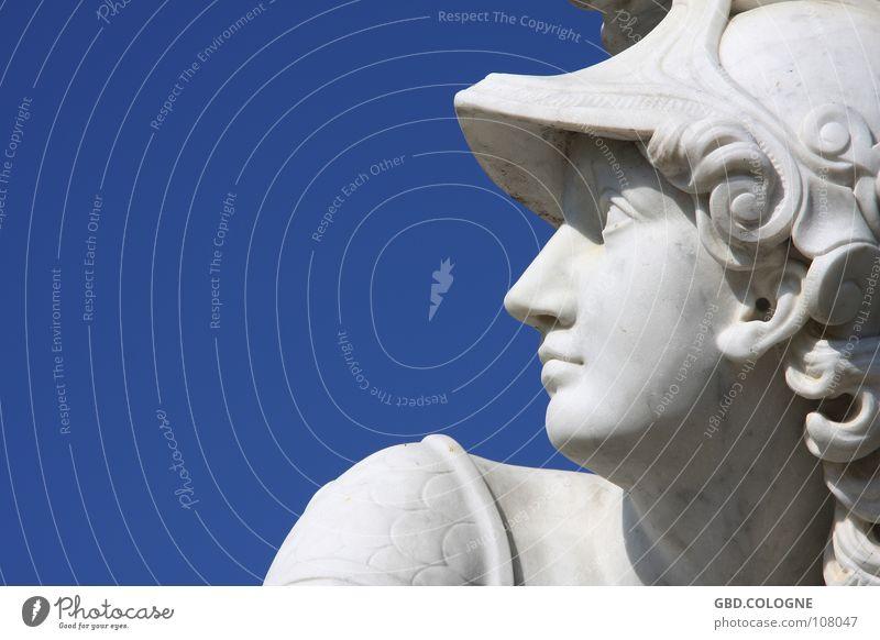 versteinert Himmel blau Sommer Berlin Kunst Statue Denkmal Skulptur Wahrzeichen Schönes Wetter Sightseeing Sehenswürdigkeit Potsdam Brandenburg Weltkulturerbe