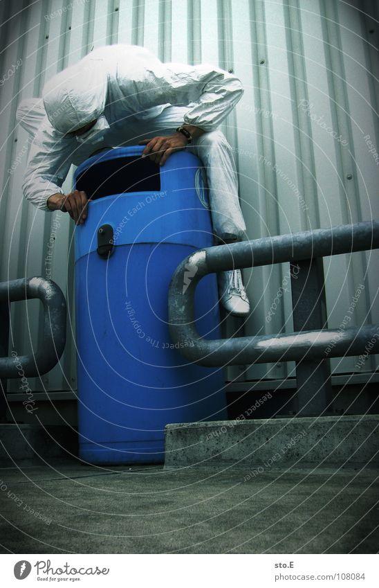 waste researcher pt.1 Kerl Aktion Anzug weiß Sicherheit Schutzanzug Arbeitsbekleidung Pentium Arbeitsschuhe Stahlkappe Maske Schutzmaske Atemschutzmaske