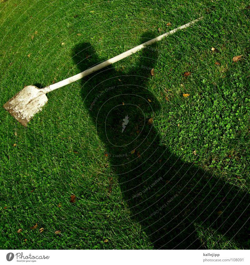 schwarzarbeiter Spielen Garten träumen Arbeit & Erwerbstätigkeit gehen laufen nass wandern liegen Aktion fahren Rasen Vergangenheit Surrealismus Gegenwart