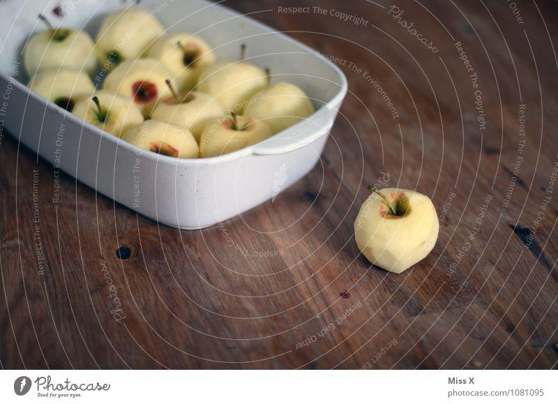 Kuchen? Apfelmus? Apfelpfannkuchen? Auflauf? Lebensmittel Ernährung Bioprodukte Vegetarische Ernährung Diät Schalen & Schüsseln Gesunde Ernährung frisch lecker
