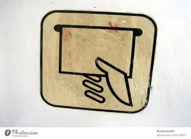 so sollst du tun Eisenbahn Symbole & Metaphern Dinge Piktogram Hinweisschild